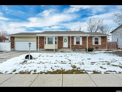 West Jordan Single Family Home For Sale: 2169 W 7600 S