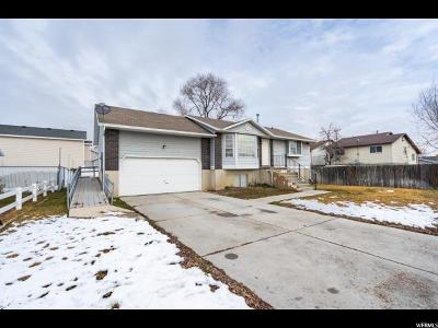 West Valley City Single Family Home For Sale: 3356 W Tess Ave