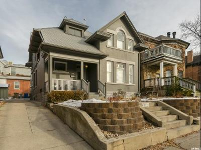Salt Lake City Single Family Home For Sale: 661 E Third Ave