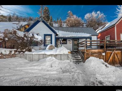 Park City Single Family Home For Sale: 162 Daly Ave