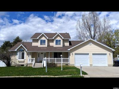 North Logan Single Family Home Under Contract: 1573 E 1820 N