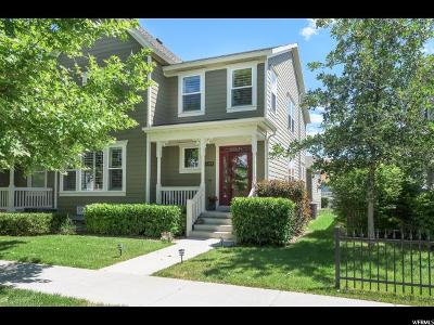 South Jordan Single Family Home For Sale: 4353 W Lake Bridge Dr