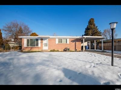 West Valley City Single Family Home For Sale: 3530 W Christy Ave S