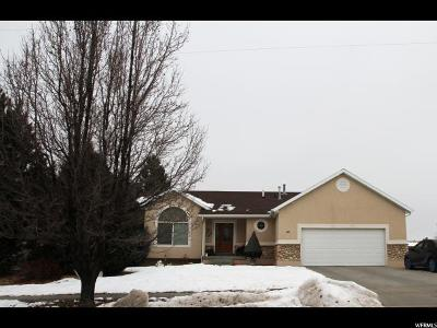 Tooele Single Family Home For Sale: 82 W Iron Rod Rd