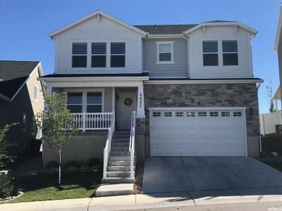 Herriman Single Family Home For Sale: 4887 W White Pearl Ct S