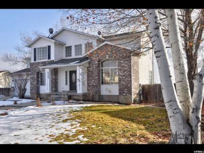 West Jordan Single Family Home For Sale: 4503 Ripple Dr
