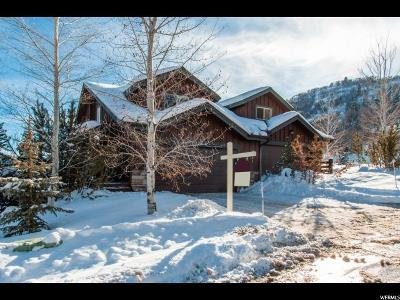 Park City Townhouse For Sale: 5171 Cove Canyon Dr #A
