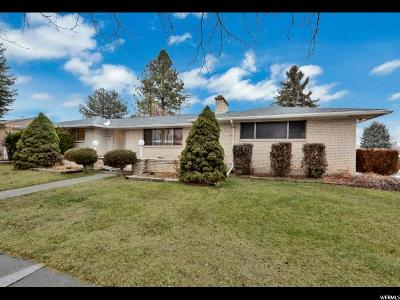 Holladay Single Family Home For Sale: 1261 E Chevy Chase Dr S