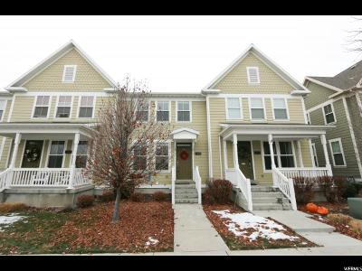 South Jordan Townhouse For Sale: 10644 S Topview Rd