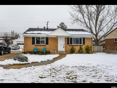 Layton Single Family Home For Sale: 1213 W Marilyn Dr