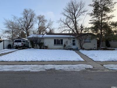 Salt Lake City Single Family Home For Sale: 4655 W 4775 S