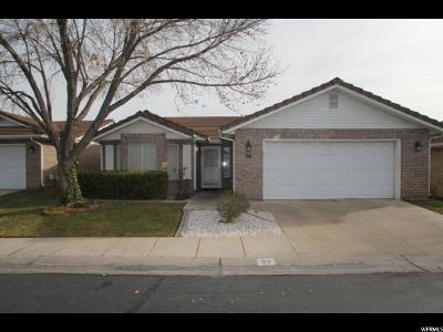 St. George Single Family Home For Sale: 1055 E 900 S #94