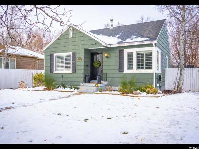 Salt Lake City Single Family Home For Sale: 2526 S Filmore St