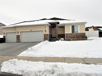 Tooele County Single Family Home For Sale: 604 E 1480 N