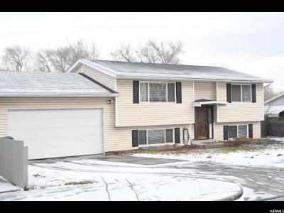 West Valley City Single Family Home For Sale: 4744 W 3650 S