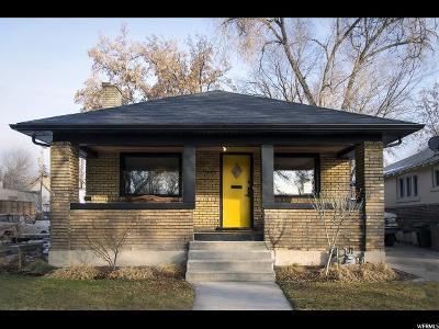 Salt Lake City Single Family Home For Sale: 949 Denver St