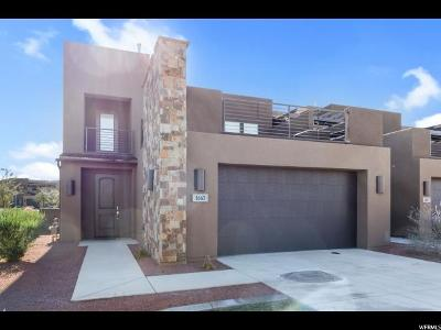 St. George Townhouse For Sale: 1663 W Caledonia Dunes Dr