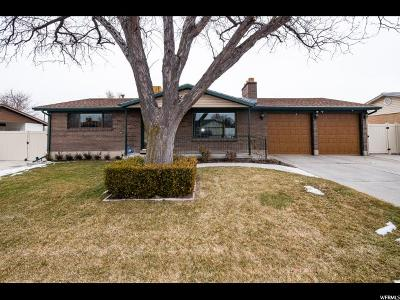 West Valley City Single Family Home For Sale: 3829 S 3660 W