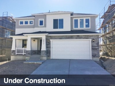 Utah County Single Family Home For Sale: 3917 W 1700 N
