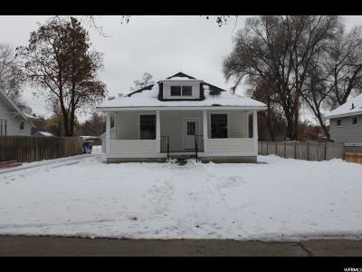Logan Single Family Home For Sale: 528 E 100 S