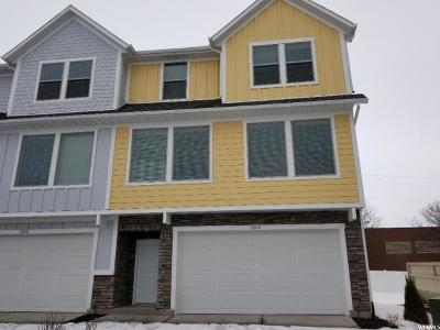 Layton Townhouse For Sale: 2504 N Knights Ln