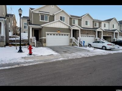 Herriman Townhouse For Sale: 14524 S Juniper Shade Dr #168