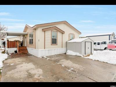 Roy Single Family Home Under Contract: 3954 S 1975 W #27