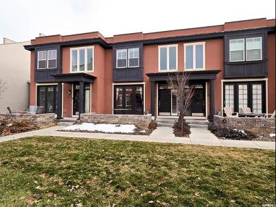 South Jordan Townhouse For Sale: 4514 W Milford Dr