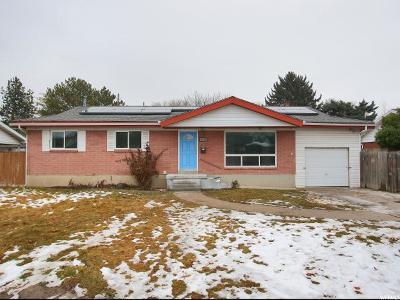 Salt Lake City Single Family Home For Sale: 3701 S 580 E