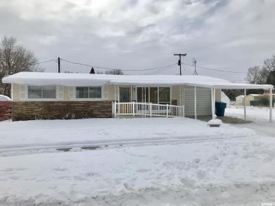 Preston Single Family Home For Sale: 266 E 100 N