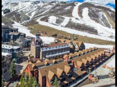 Park City Condo For Sale: 1415 Lowell Ave #166