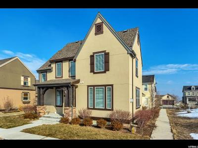 South Jordan Single Family Home For Sale: 10436 S Millerton Dr