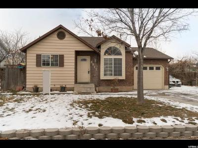 Weber County Single Family Home For Sale: 4817 S 3900 W