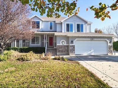 Salt Lake County Single Family Home For Sale: 1150 N Morton Hill Cir