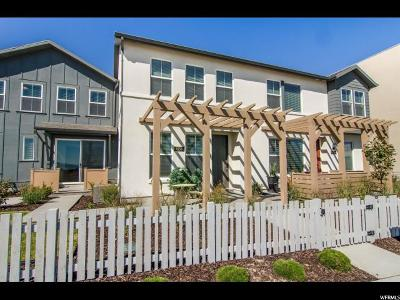 Salt Lake County Townhouse For Sale: 6158 W Lake Ave S #141