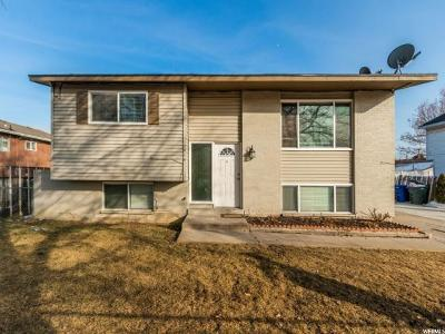 Salt Lake County Single Family Home For Sale: 1515 S 1300 W