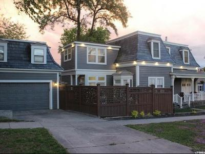 Salt Lake County Single Family Home For Sale: 206 E Street