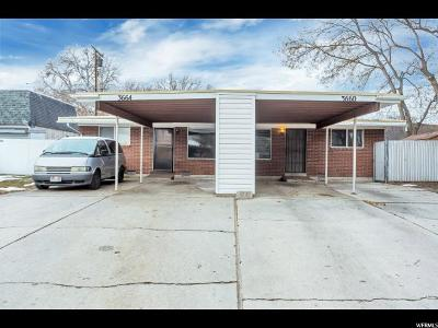 Salt Lake County Multi Family Home For Sale: 3660 S Red Maple Rd E #(3664)