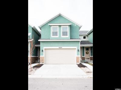 Salt Lake County Townhouse For Sale: 5154 W Laureston Way