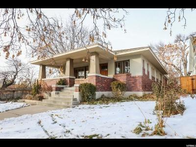 Salt Lake County Single Family Home For Sale: 1435 E Yale Ave