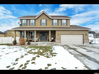 Tooele County Single Family Home For Sale: 396 W Battery Park Cir
