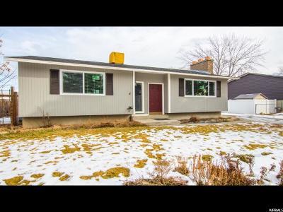 Salt Lake County Single Family Home For Sale: 1199 E Buddlea Dr
