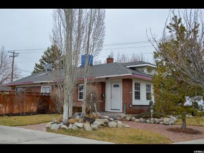 Salt Lake County Single Family Home For Sale: 4858 S Wasatch St E