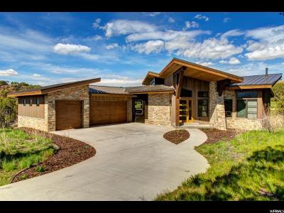Wasatch County Single Family Home For Sale: 599 N Red Mountain Ct (Lot 210) #210