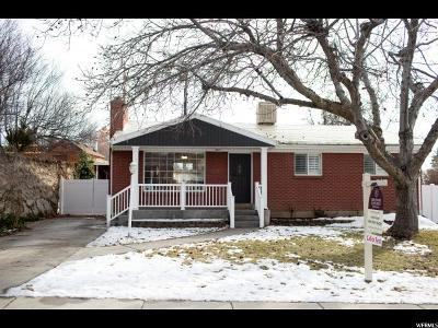 Salt Lake County Single Family Home For Sale: 2140 E Lincoln Ln S