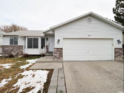 Salt Lake County Single Family Home For Sale: 8337 S Etude Dr W