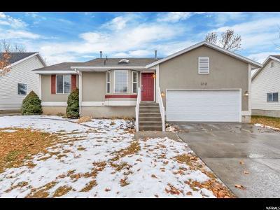Draper Single Family Home For Sale: 212 E Rawlins Ln