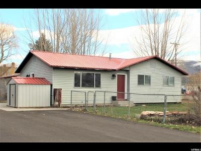 Wasatch County Single Family Home For Sale: 412 W 200 N