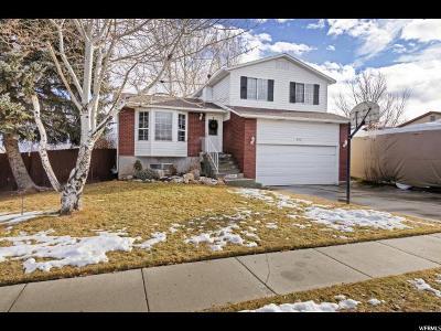 Salt Lake County Single Family Home For Sale: 6661 S Cyclamen Dr W