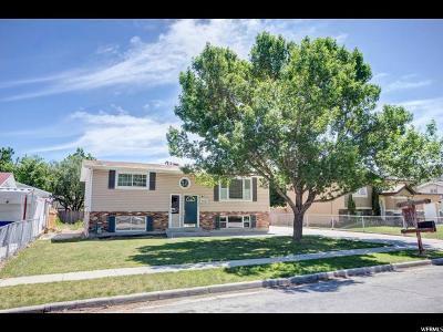 Salt Lake County Single Family Home For Sale: 4553 Edgeware Ln
